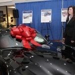 Scott Robertson & Sarah Rose Bytnar at Dodge Viper Auction 2014, Fort Myers, FL