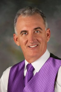 Scott Robertson - Purple vest head shot
