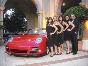 Scott Robertson and his floor staff at the Immokalee Foundation Gala 2010