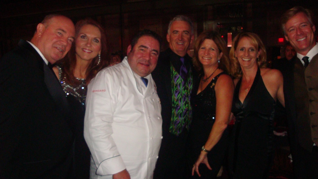 Emeril with group